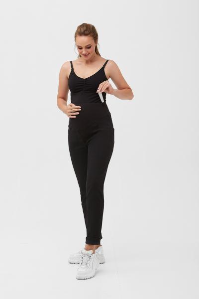 Черные джинсы для беременных