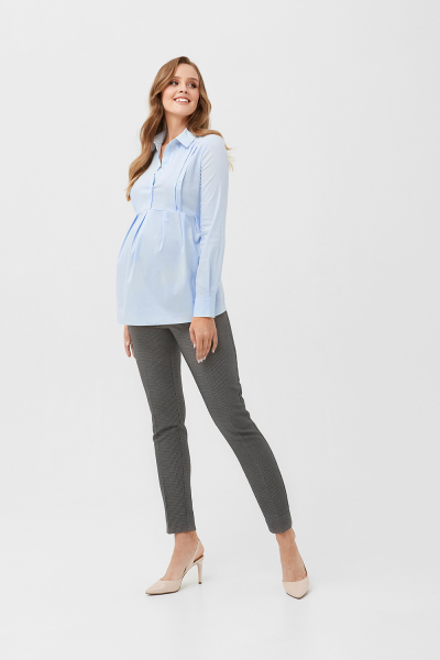 Shirt for nursing mothers and for pregnant women