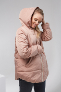 Куртка 2 в 1 Кавова Amanda 1780 1431 фото