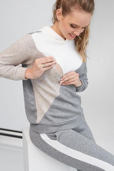 Кофта з капюшоном для вагітних