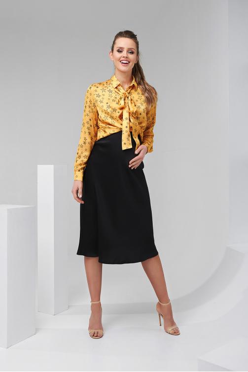 Блуза з принтом 2026 1325 фото