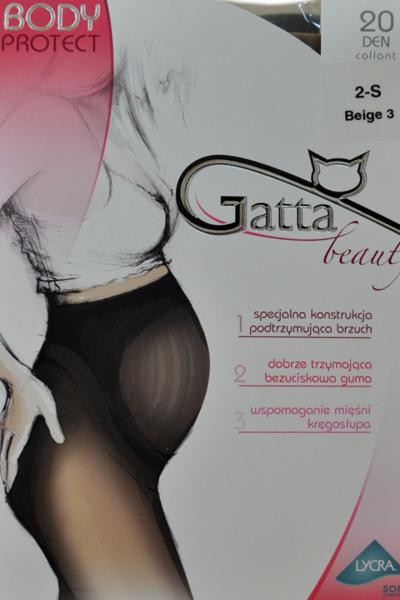 Колготи GATA 20den Nero  для вагітних