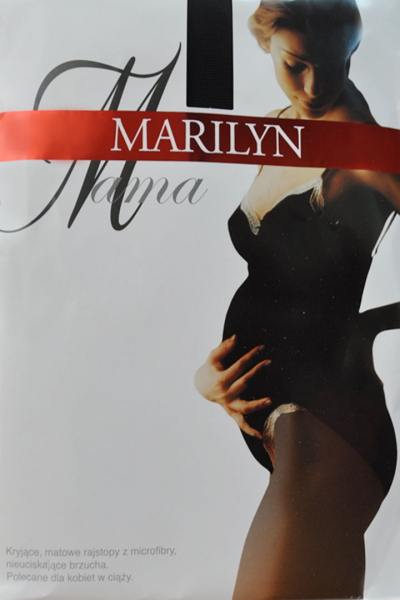 Tights MARILYN 60den black  for pregnant women