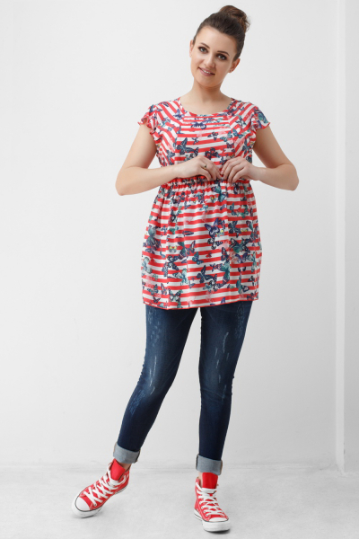 Блуза для вагітних 1808 0084